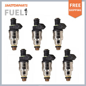 6 Pcs Ev1 Fuel Injector 440cc Replaces 0280150558 42lb Hr For Bmw Ford Mustang
