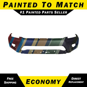 New Painted To Match Front Bumper Cover For 2012 2015 Toyota Tacoma Truck