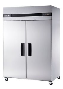 New Blue Air M Bsf49t T Series Freezer 2 Door Commercial Upright Top Mount
