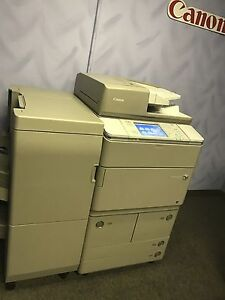Canon Imagerunner Ira 8285 Multifunction Printer Copier Scan Finisher 85ppm