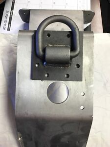 5 8 D Ring With Mounting Base Plate Heavy Duty