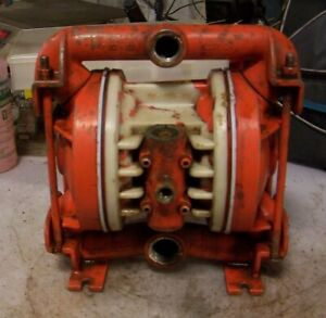 Wilden Alloy C Air Operated Double Diaphragm Pump 3 4 X 1 Model 86