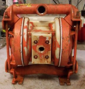 Wilden Stainless Steel Air Operated Double Diaphragm Pump 3 4 X 1 Model 86