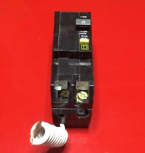 New Circuit Breaker Square D Qo220gfi Gfci Protection 2 Pole 20 Amp 120 240v