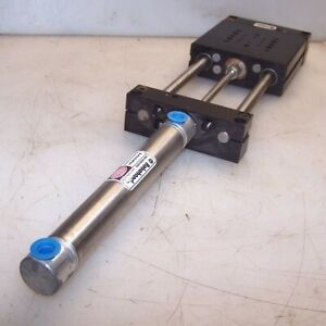 New Robohand 2 Stroke 2 1 2 Bore Pneumatic Linear Actuator Slide Dlb 10 a b 4