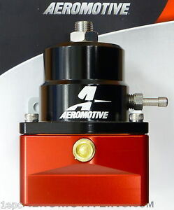 Aeromotive 13101 Fuel Pressure Regulator Efi Bypass 45 75 Psi Adjustable 10 An