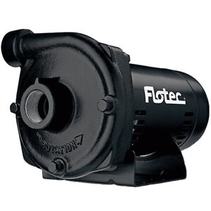 Flotec Fp5542 59 Gpm 1 1 2 Hp Cast Iron Electric Transfer Pump