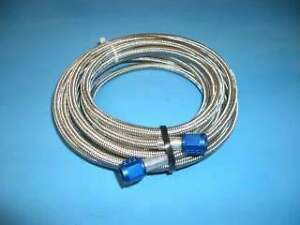 16 Foot 4an Braided Nitrous Oxide Line Hose New Nos 15300