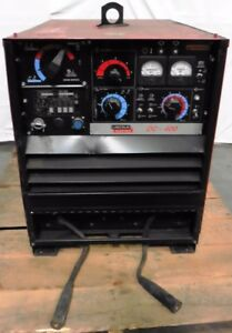 G135069 Lincoln Electric Dc 400 Stick tig Welder