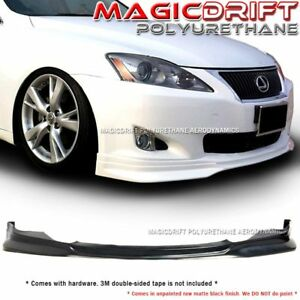 For 06 07 08 Lexus Is250 Is350 F Sport Front Bumper Chin Spoiler Lip Jdm Vip