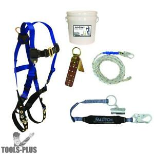 5pc Contractor Complete Roofer s Kit Falltech 8595a New
