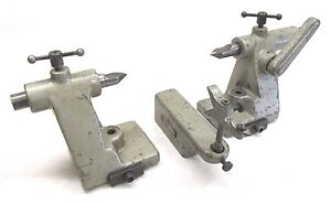 Pair Of Ko Lee Tool Cutter Grinder Centers b921 W Setting Gage b939
