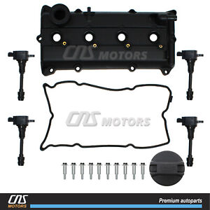 Valve Cover Gasket Ignition Coil For 02 06 Nissan Altima Sentra Se R 2 5l