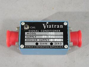 Viatran Transducer Signal Conditioner Model 601