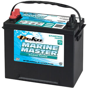 Deka Genuine New 24m5 Marine Starting Battery 675amp Cranking Power group 24