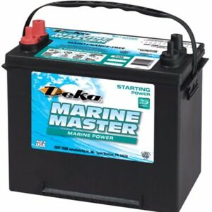 Deka Genuine New 24m4 Marine Starting Battery 565amp Cranking Power group 24