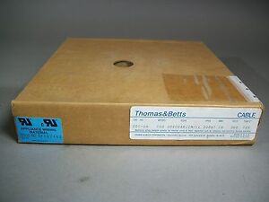 Thomas Betts 201 26 Flat Ribbon Cable 26 wire 100ft 28awg 300v 30800ar im ll