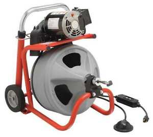 Drain Cleaning Machine 1 2inx75ft Cable Ridgid 26998