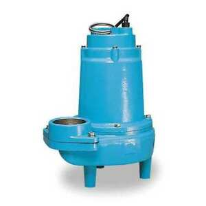 1 Hp 3 Manual Submersible Sewage Pump 230v Little Giant 16s cim