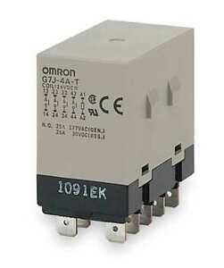 Enclosed Power Relay 10pin 120vac 3pst Omron G7j 3a1b t w1 ac100 120