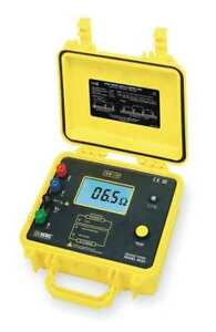Earth Ground Tester 128 Hz 42vac Aemc 4620