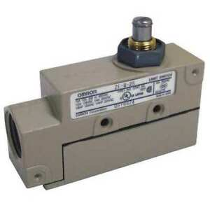 Omron Ze q 2s Spdt Limit Switch Plunger Nema 1 Ip 60