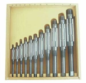Adjustable Hand Reamer Set hss 11 Pcs Westward 4lgu4