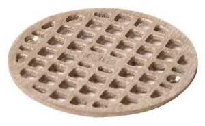 Floor Drain Grate round 5 19 32 In Dia Jay R Smith Mfg Co A06nbg