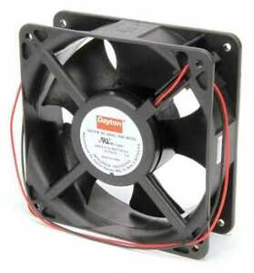 Dayton 6kd70 Axial Fan Square 12vdc Phase 138 Cfm 4 11 16 W