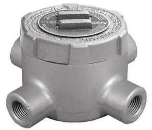 Appleton Electric Gux75 Conduit Outlet Body iron x 3 4 In
