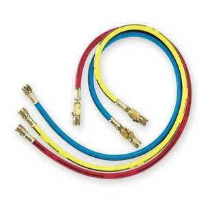 Manifold Hose Set 36 In red yellow blue Imperial 803 kcs