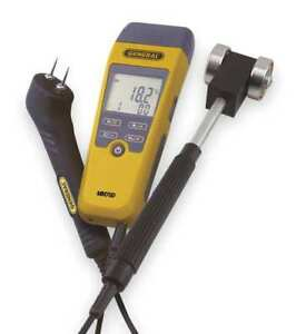 Digital Moisture Meter Kit roller Probe