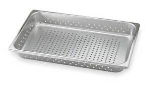 Perforated Pan full size 8 3 Qt Vollrath 30023