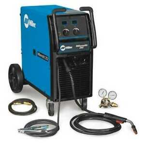 Miller Electric 907322 Mig Welder Wheeled 230 460 575vac