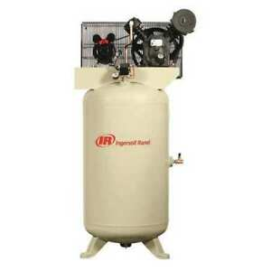 Ingersoll Rand 2340n5 Electric Air Compressor 2 Stage 5 Hp