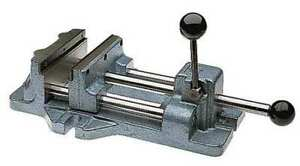 Drill Press Vise 1 1 4 D 8 3 16 In Open Wilton 13403