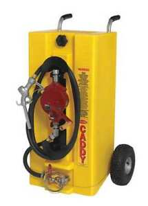 Fuel Caddy 28 Gal diesel yellow Zoro Select 932404ip