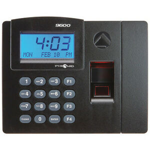 Swipe Card Time Clock System digital