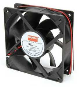 Dayton 2rtj7 Axial Fan Square 24vdc Phase 170 Cfm 4 11 16 W