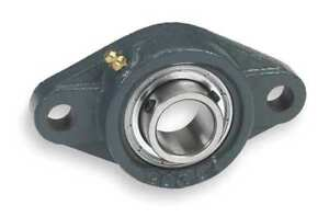 Dayton 3fcv7 Mounted Ball Bearing 1 3 8 In Bore