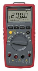 Digital Hvac Multimeter 1000v Amprobe Am 560