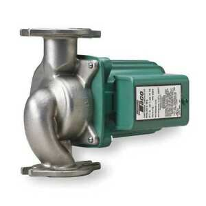 Hot Water Circulator Pump ss 1 8 Hp Taco 0012 sf4
