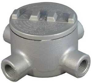 Appleton Electric Grx50 Conduit Outlet Body iron x 1 2 In