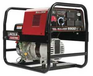 Lincoln Electric K2708 2 Engine Driven Welder Bulldog 5500