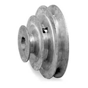 Congress Sca600 4x062kw V belt Pulley 5 8 1 2 4 step 3 4 5 6 od