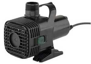 Water Garden Pump 10 In L 5 11 16 In W Little Giant F20 2700