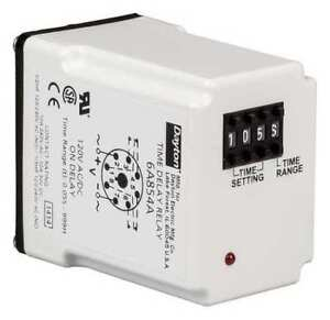 Time Delay Relay 120vac dc 10a dpdt led