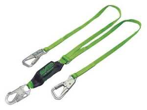 Shock absorbing Tie back Lanyard Miller By Honeywell 8798b 6ftgn