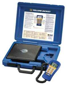 Electronic Refrigerant Charging Or Recovery Scale Yellow Jacket 68812