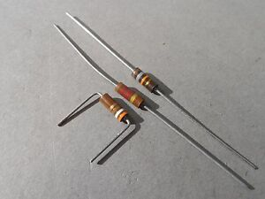 Mixed Lot Of 290 Allen bradley Resistor 1 2 Watt 1 2k390 18 Ohm